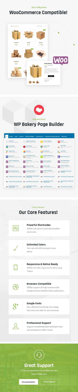 Shiftler WordPress Theme